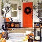 украшение дома на хэллоуин фото интерьер