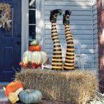 украшение дома на хэллоуин фото интерьера