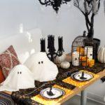 украшение дома на хэллоуин оформление фото