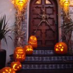 украшение дома на хэллоуин фото оформления