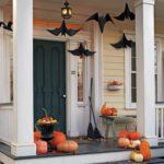 украшение дома на хэллоуин декор фото