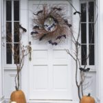 украшение дома на хэллоуин фото варианты