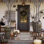 украшение дома на хэллоуин фото вариантов