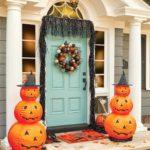 украшение дома на хэллоуин виды