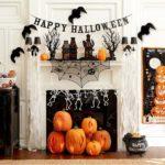 украшение дома на хэллоуин интерьер
