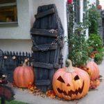 украшение дома на хэллоуин фото дизайна