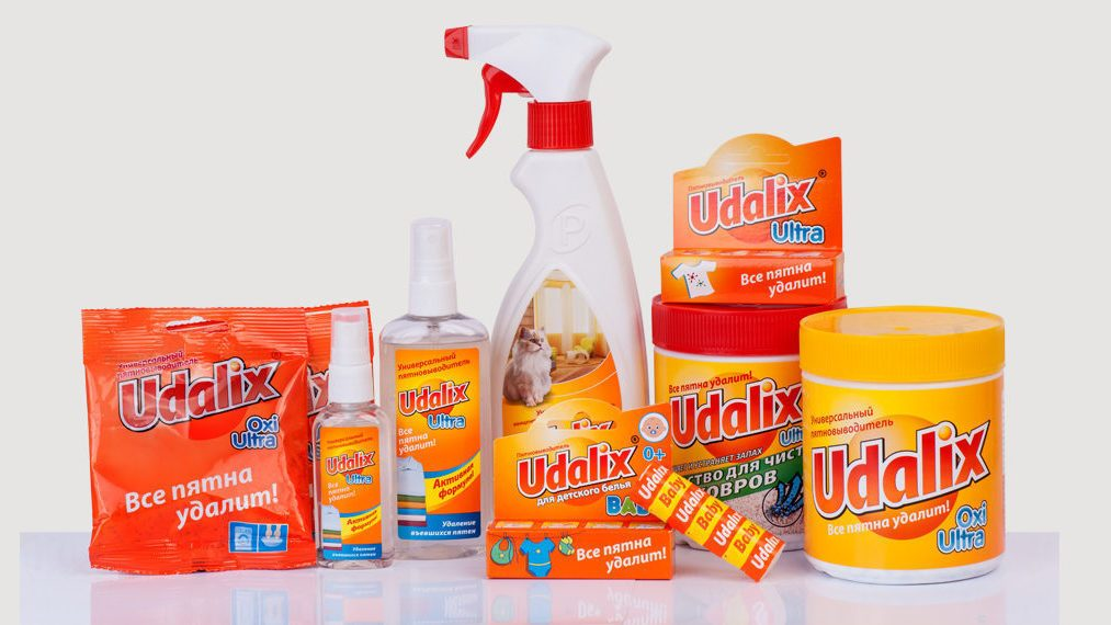 универсальный пятновыводитель Udalix Oxi Ultra