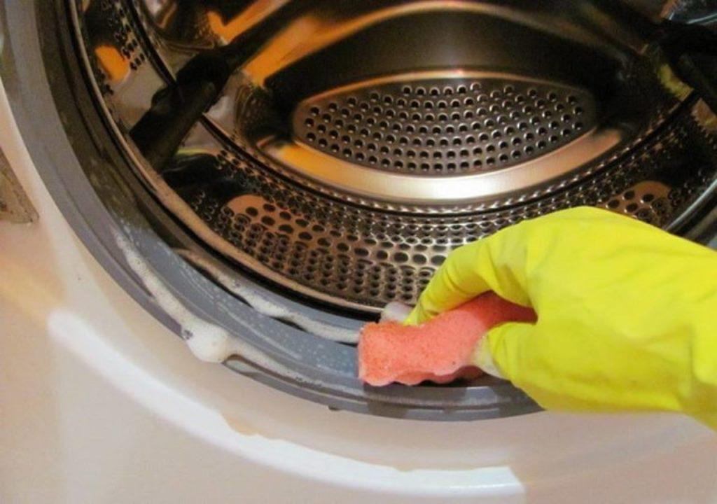 устранение запаха в стиральной машине
