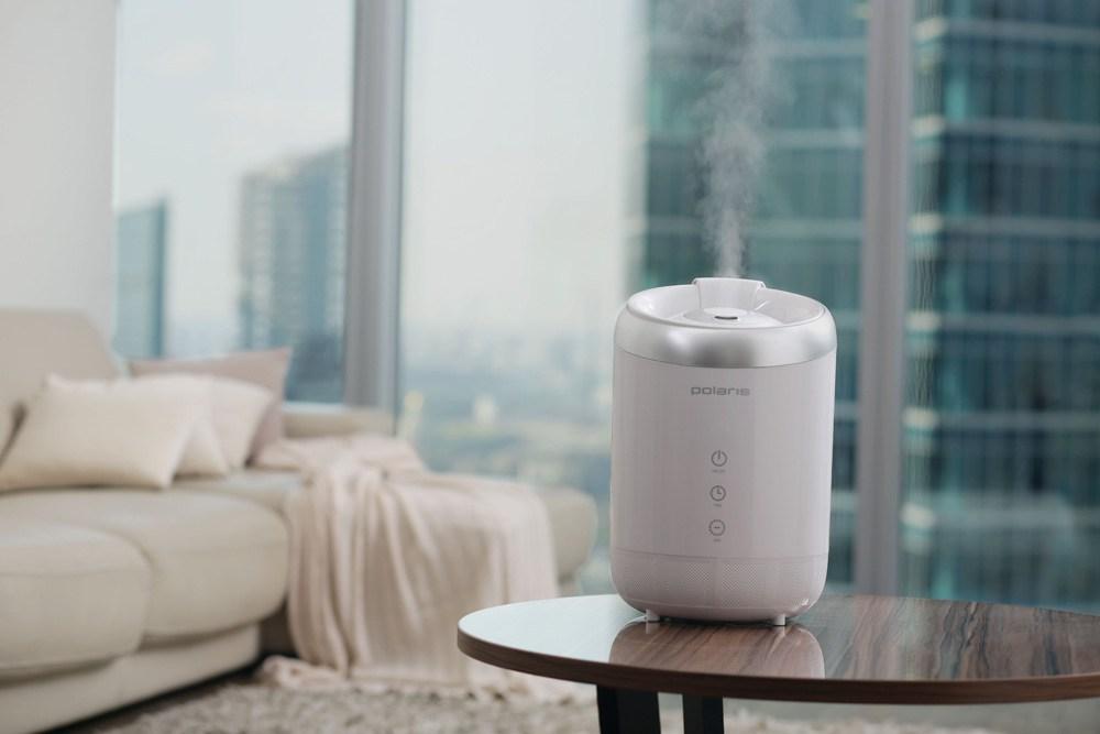 увлажнитель воздуха в комнате