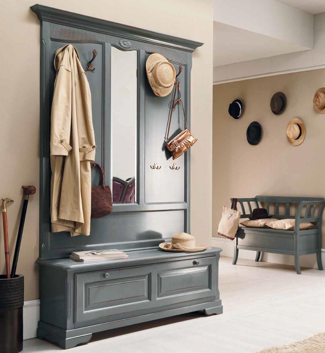 Фото мебель прихожей в стиле ретро