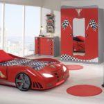 кровать-машина для мальчика под ралле