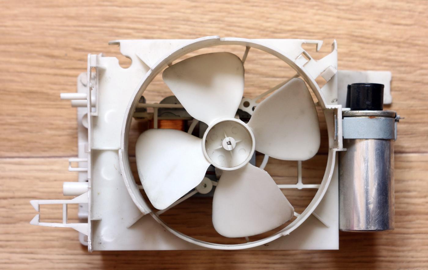 вентилятор микроволновки