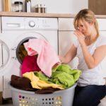 запах в стиральной машине от вещей