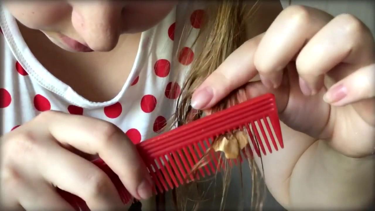 жвачка в волосах ребенка