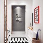 комната узкая коридор