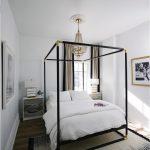 зонирование кроватью