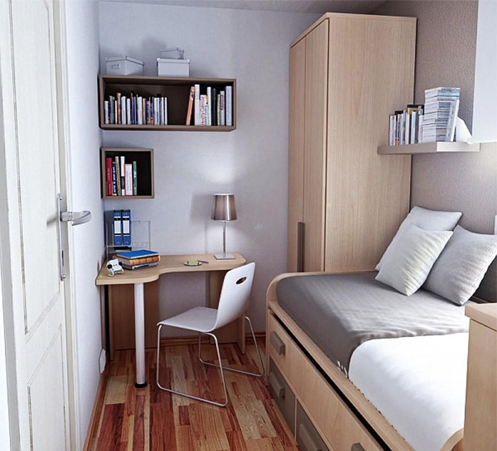 узкая комната маленькая