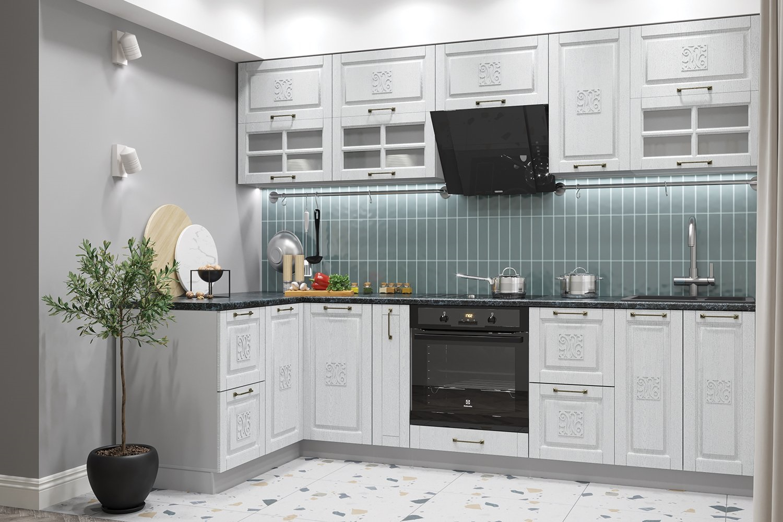 вертикальна кладка на кухне