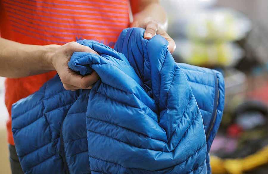 правила ухода за одеждой из биопуха