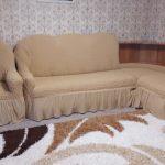 чехол на диван бежевый