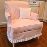 чехол для кресла розовый