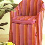 чехол для кресла в полску