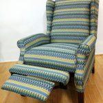 чехол для кресла с подножкой