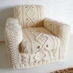 чехол для кресла с пупырышками