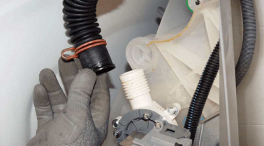 чистка сливного шланга