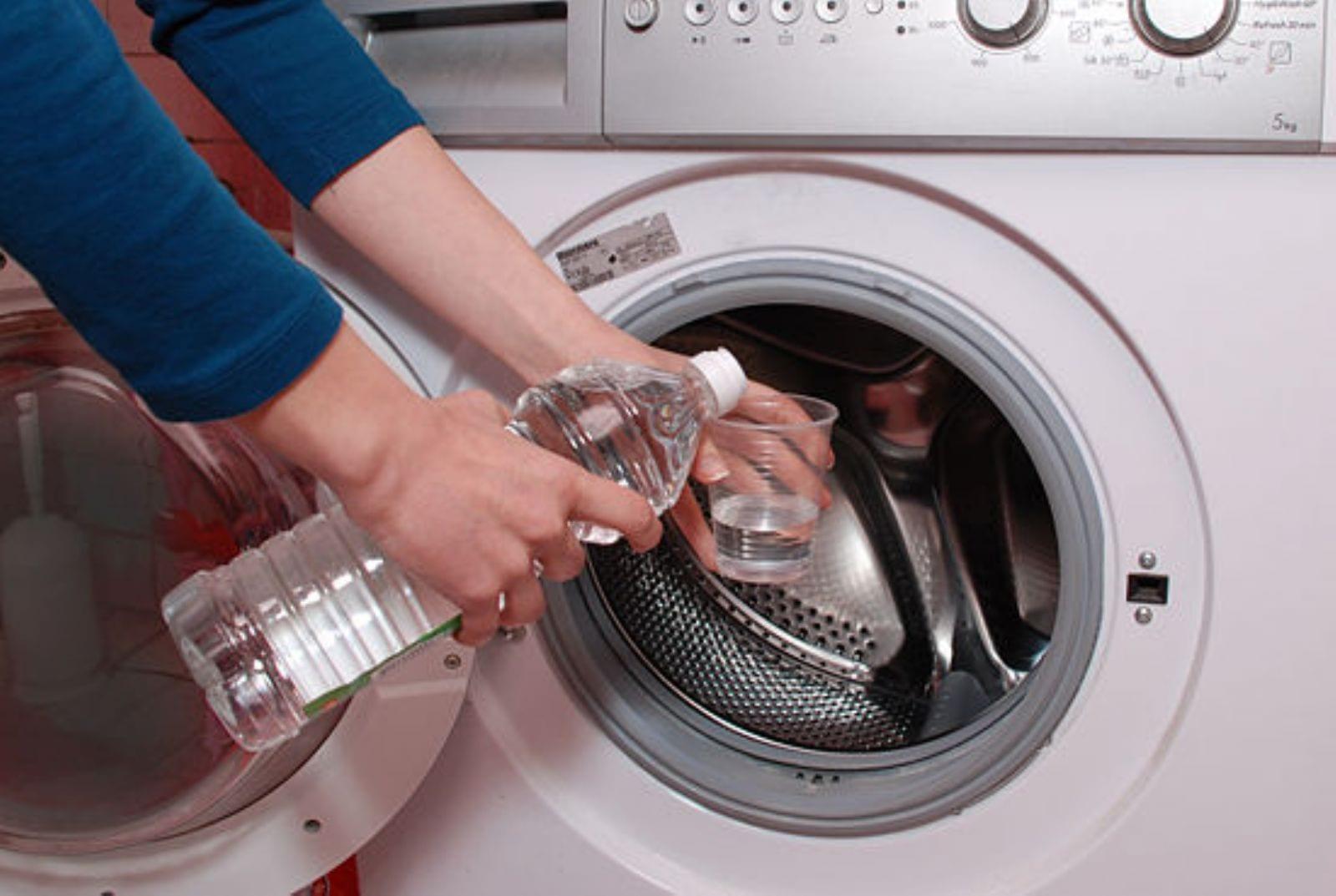 чистка стиральной машины от накипи