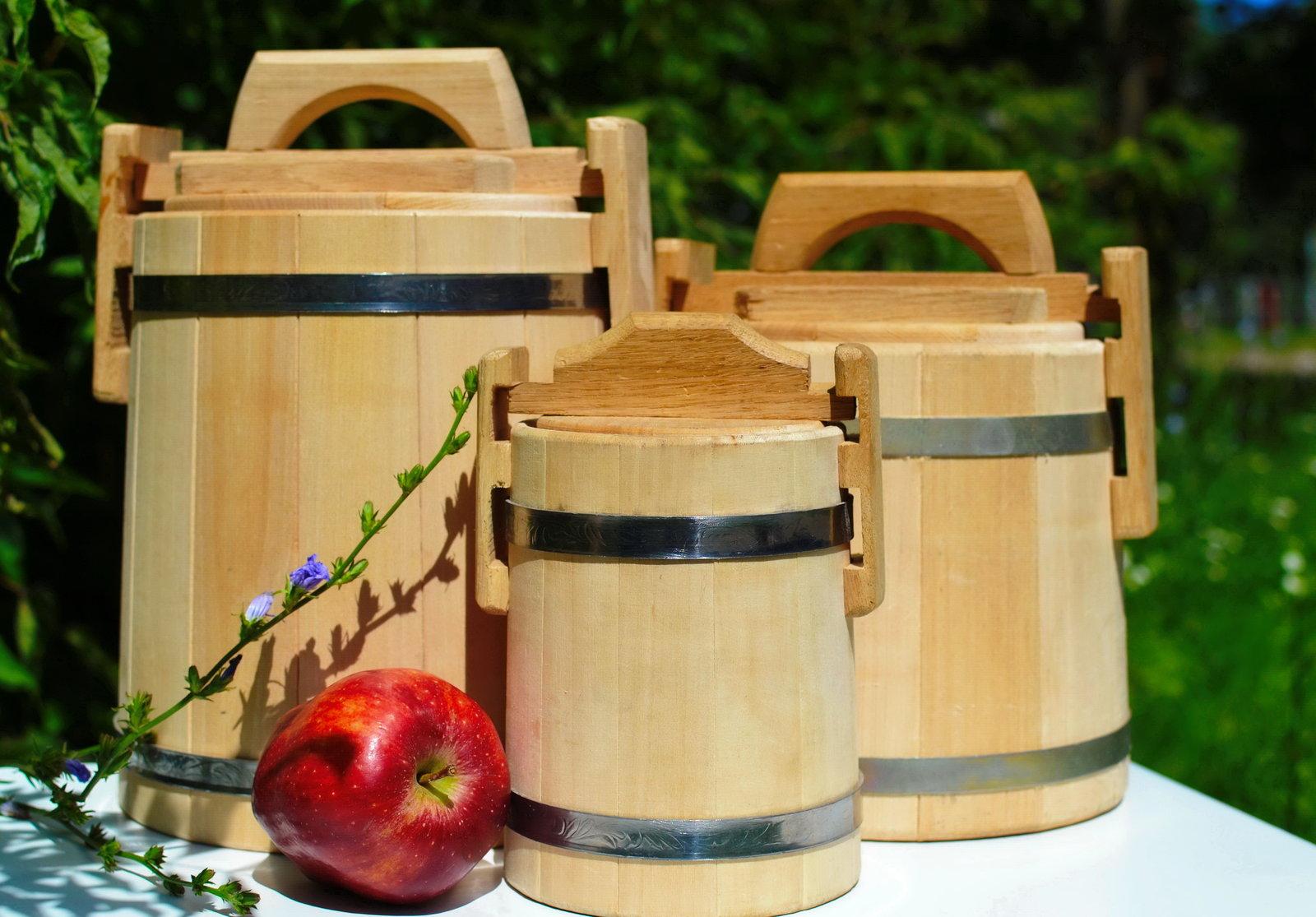 деревянные емкости для меда