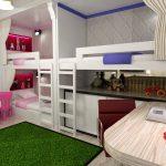 детская комната для двоих детей идеи дизайна