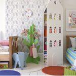 детская комната для двоих детей оформление идеи