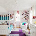 детская комната для двоих детей варианты идеи