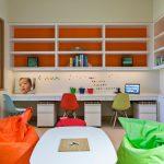 детская комната для двоих детей фото виды