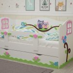 детская кровать с бортиками идеи дизайн