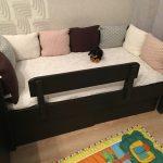 детская кровать с бортиками идеи интерьера