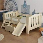 детская кровать с бортиками оформление идеи