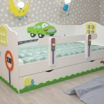 детская кровать с бортиками идеи оформления