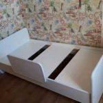детская кровать с бортиками виды дизайна