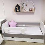 детская кровать с бортиками фото дизайн
