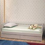 детская кровать с ящиками идеи