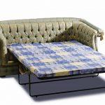 диван-раскладушка светлый