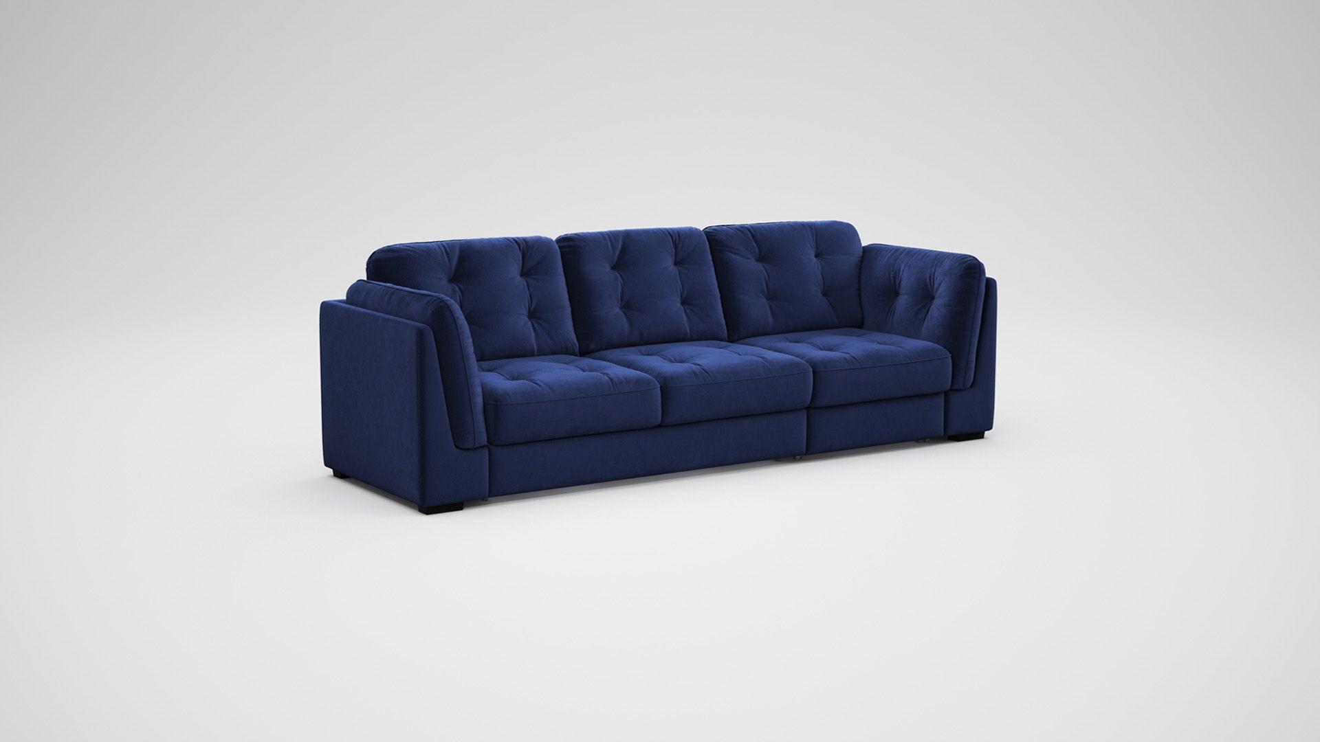плавная раскладка дивана