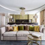 диван в интерьере декор
