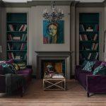 диван в интерьере декор фото