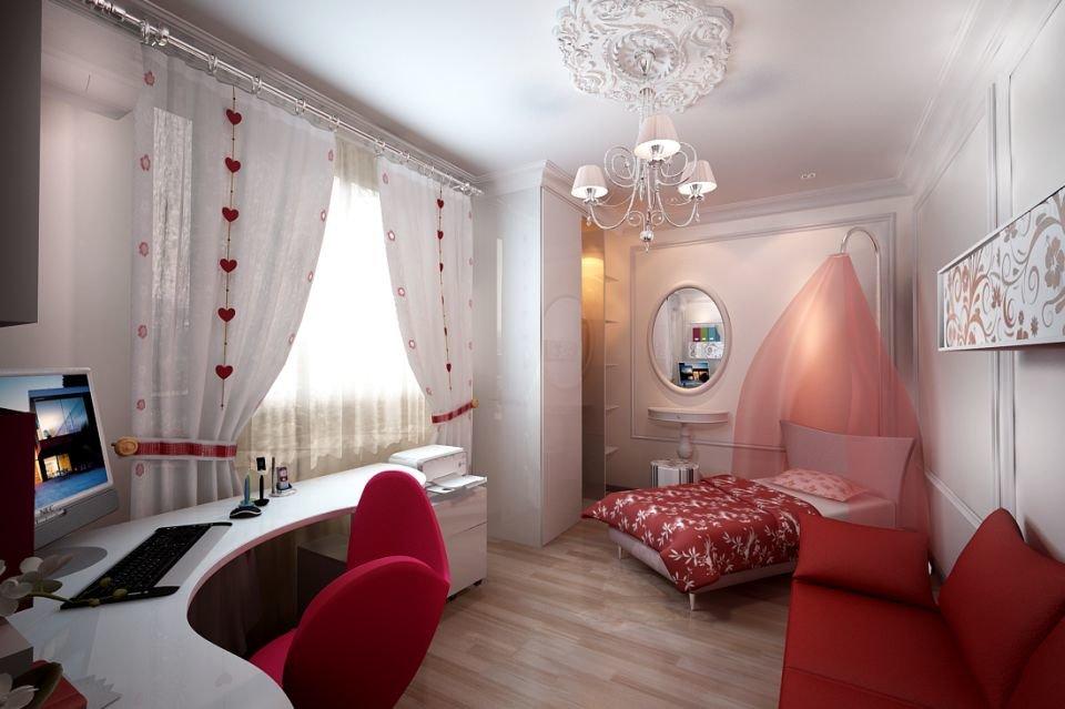 Спальни для девушек картинки