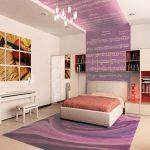 современный интерьер в комнате подростка