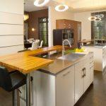 кухня без верхних шкафов идеи