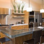 кухня без верхних шкафов интерьер идеи